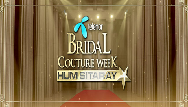 Telenor Bridal Couture Week, 2014 Lahore