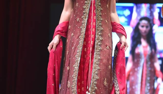 Uzma Babar Bridal Collection at International Fashion Festival Doha