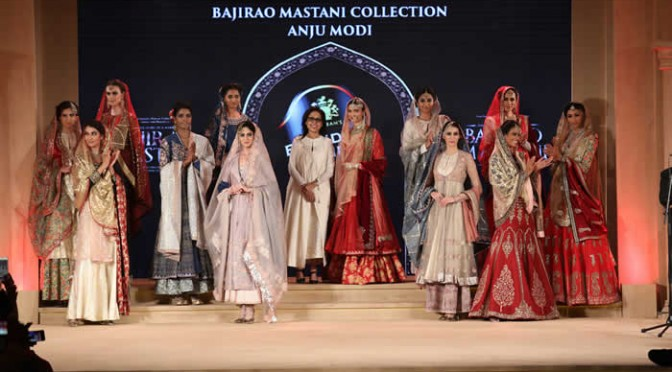 Anju Modi Bajirao Mastani inspired Collection