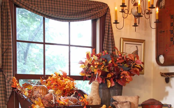 IDEAS FOR FALL DECORATING