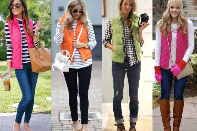 Style Tips On How To Wear Puffer Vests This Fall
