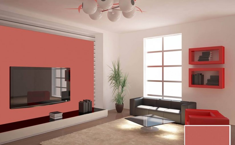 Try Attractive Color in your TV lounge