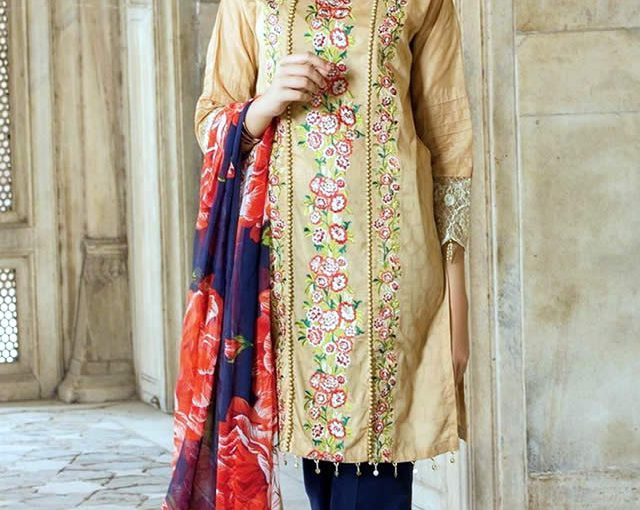 Orient Textile Chiffon Embroidered Summer Collection 2017