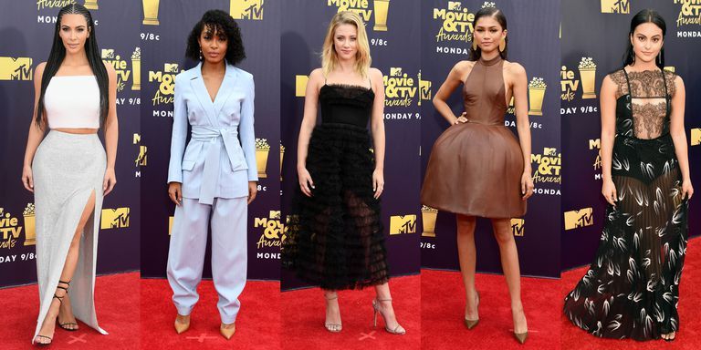 The Best Looks from the MTV Movie Awards 2018