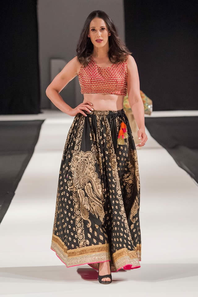 Attire by Bushra Wahid Collection at PFW London