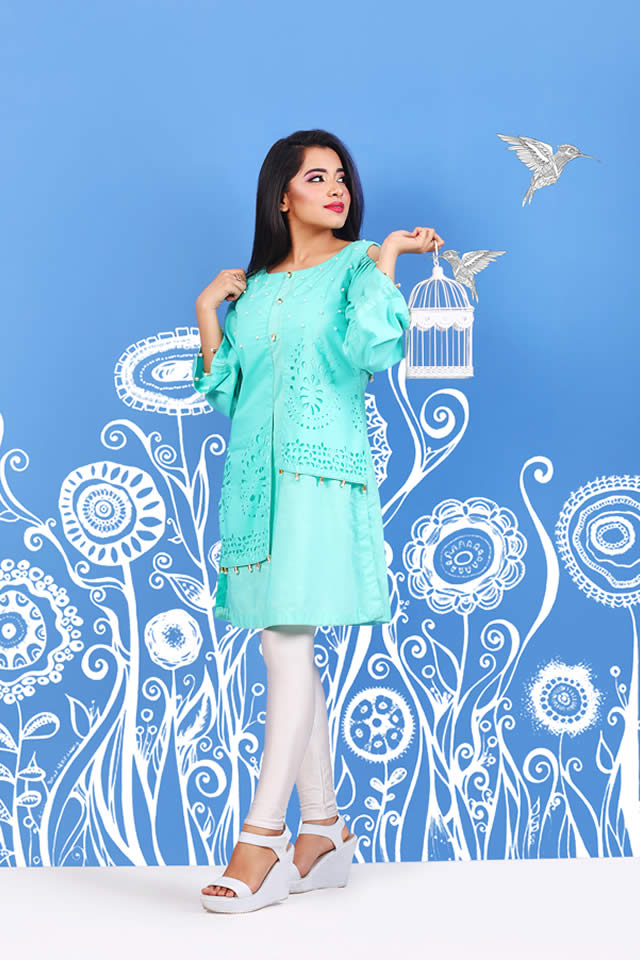 Rang Mohar Luxury Pret Collection 2018