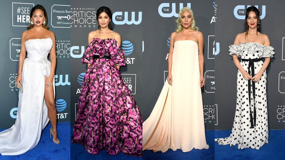 All the Looks From the 2019 Critics' Choice Awards